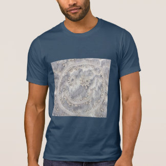 Smiley face in the sand. Happy face on the beach T-Shirt