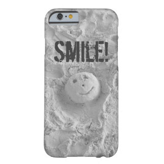 Smiley Face in the Sand iPhone 6 case