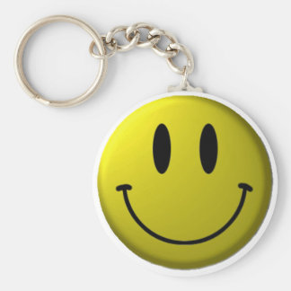 Smiley-face Key Chain