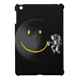 Smiley Face Moon iPad Mini Cases