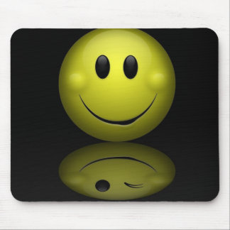 Smiley Face Mouse Mat