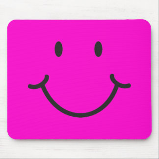smiley face mouse mats