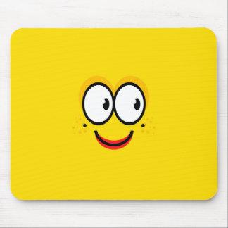 Smiley Face - Mousepad