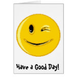 (Smiley Face multiple products) Greeting Card