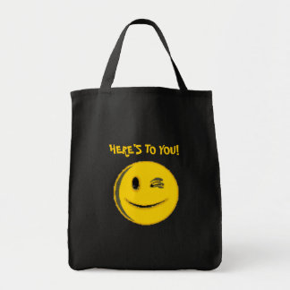 (Smiley Face multiple products) Grocery Tote Bag
