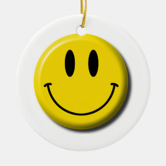 Smiley Face Ornament