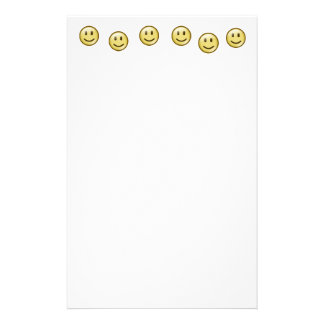 Smiley Face Personalized Stationery