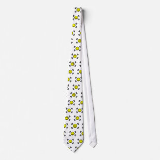 Smiley Face South Korean Flag Tie