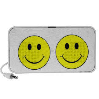 Smiley face speakers