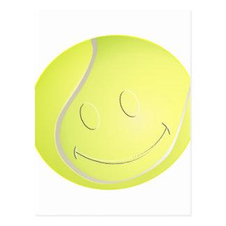 SMILEY FACE TENNIS BALL POSTCARDS