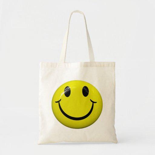 Smiley Face Tote Bag Canvas Bag