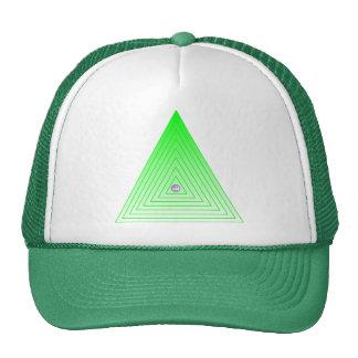 Smiley Face Triangle Cap