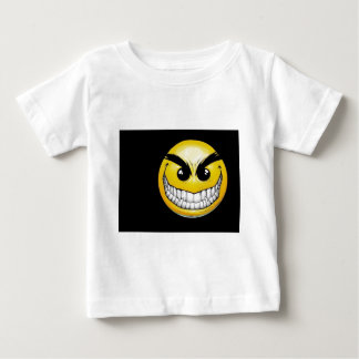 smiley-face-wallpaper-008 baby T-Shirt