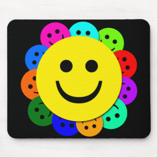 SMILEY FACES MOUSE PAD