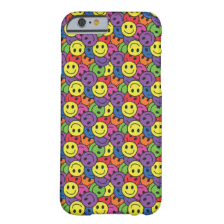 Smiley Faces Retro Hippy Pattern iPhone 6 Case