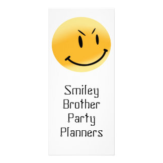 Smiley Friends -Place Your Info On The Rack Card.