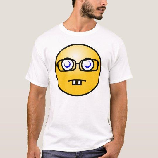 Smiley Geek Emoticon T-Shirt