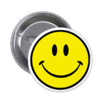 Smiley Happiness Face Buttons
