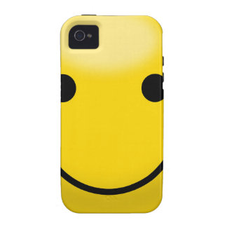 Smiley Happiness Face Vibe iPhone 4 Covers
