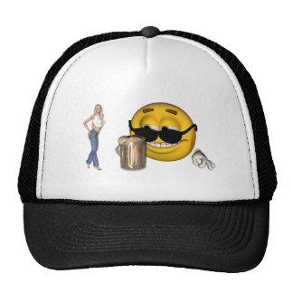 smiley hat1 cap