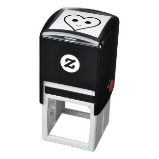 SMILEY HEART SELF-INKING STAMP