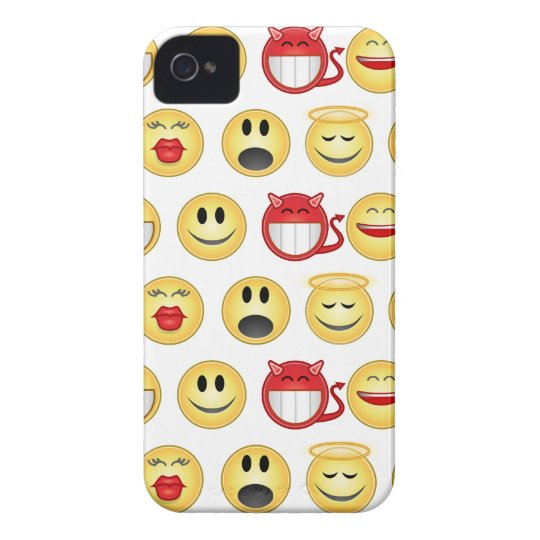 smiley iPhone 4 cover