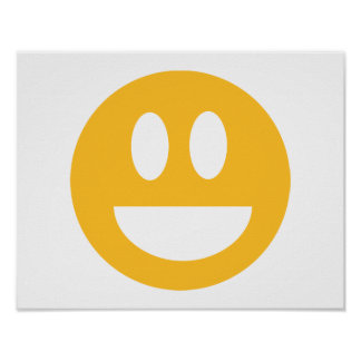 Smiley laugh lol poster