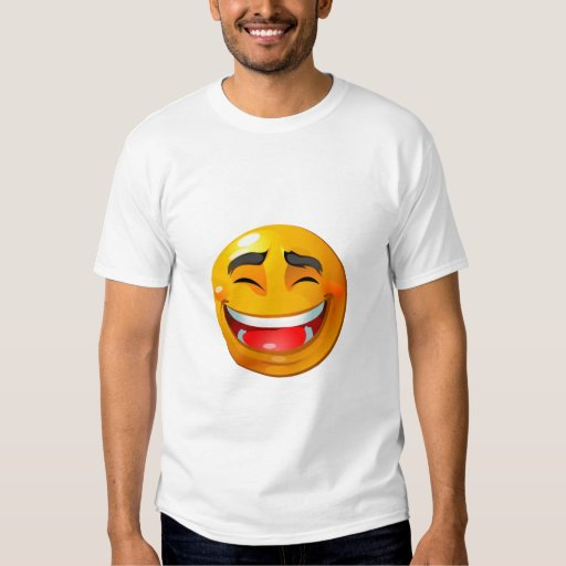 Smiley laughing shirt