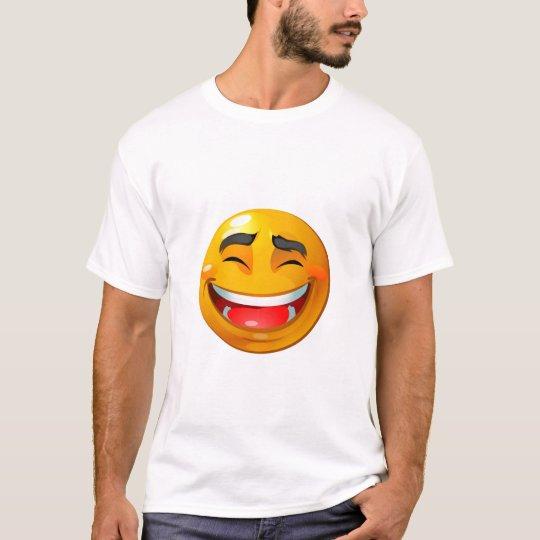 Smiley laughing shirt
