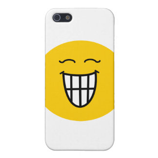 Smiley Laughing with toothy smile iPhone 5/5S Case