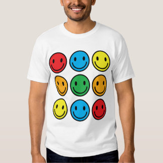 smiley men t shirt