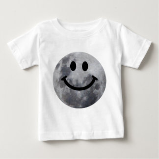 Smiley Moon Baby T-Shirt