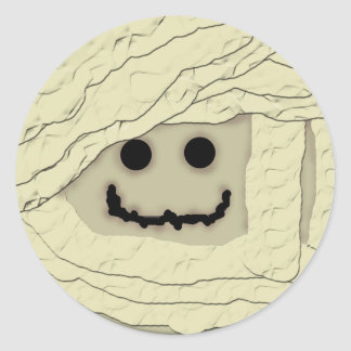 Smiley Mummy Sticker