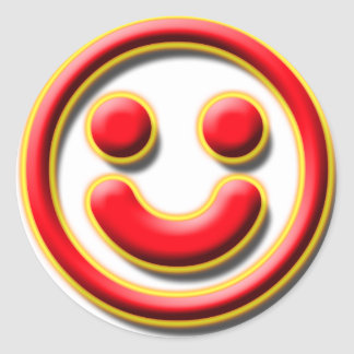 Smiley No. 1 Round Sticker