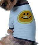 Smiley Orange Slice Dog Clothes