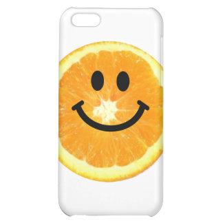 Smiley Orange Slice Cover For iPhone 5C