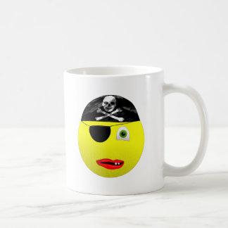 Smiley Pirate Coffee Mug