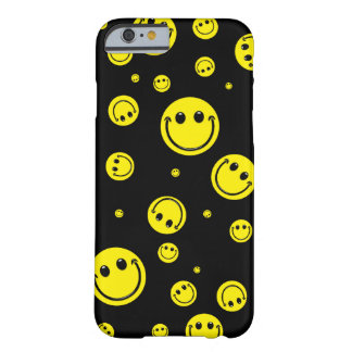 Smiley Polka Dots Barely There iPhone 6 Case