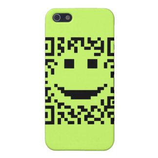 Smiley Scan UPC QR Design iPhone 5 Case