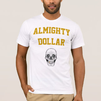 smiley-skull copy, Almighty Dollar T-Shirt