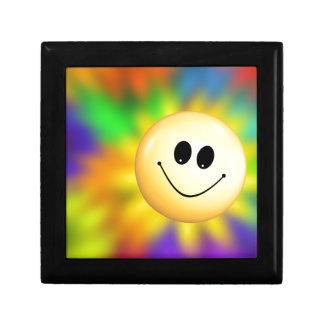 Smiley Small Square Gift Box
