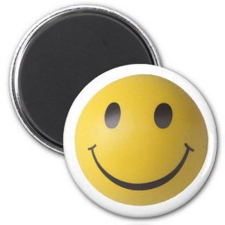 Smiley Smart Expression Smilie 6 Cm Round Magnet