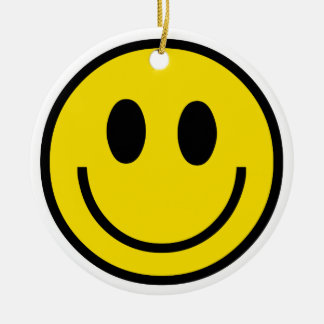 Smiley Smile Ornament