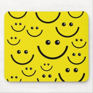 Smiley Smiley Face! Mouse Pad