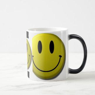 smiley, smiley, smiley magic mug