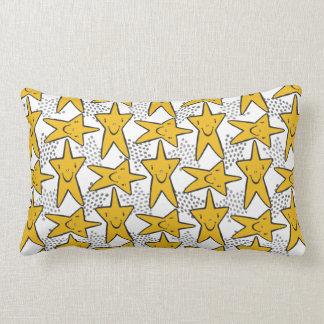 Smiley Stars throw pillows