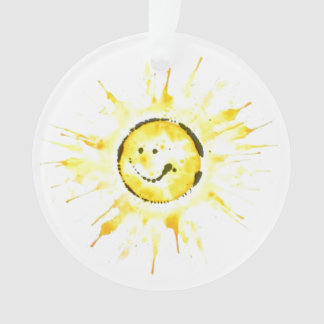 Smiley Sun Ornament