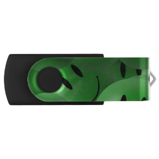 Smiley Swivel USB 2.0 Flash Drive