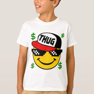 Smiley Thug Emoticon T-Shirt