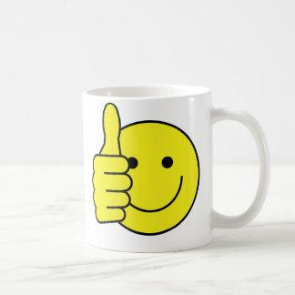 Smiley Thumbs Coffee Mug